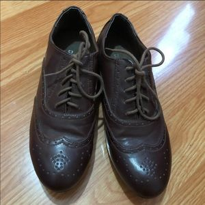 H&M Brown Oxford shoes